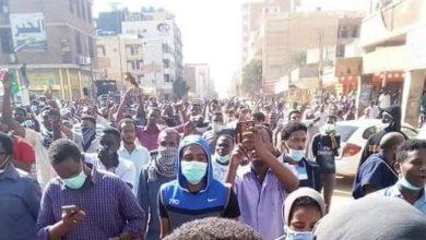 تظاهرات بالخرطوم